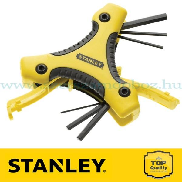 Stanley 9 részes Triangle imbuszkulcs készlet