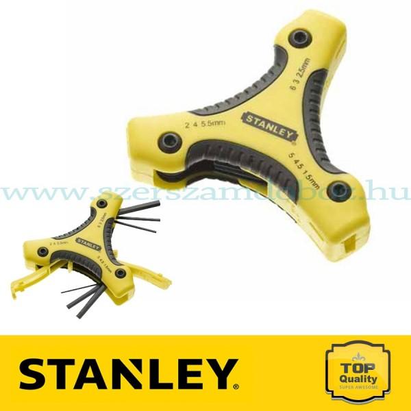 Stanley 8 részes Triangle Torx imbuszkulcs készlet