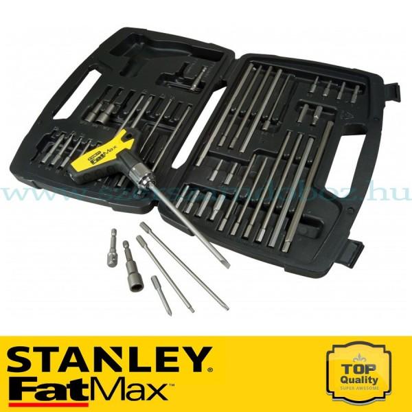 Stanley FatMax 43 db-os Racsnis T hajtókar készlet