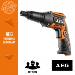 AEG BTS12C-401 Akkus gipszkarton csavarozó (1 x 12 V 4,0 Ah akku + töltő)
