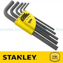 Stanley 9 db-os imbuszkulcs készlet hosszú 1,5 - 10 mm