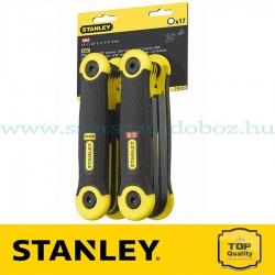 Stanley 17 részes összecsukható imbuszkulcs készlet