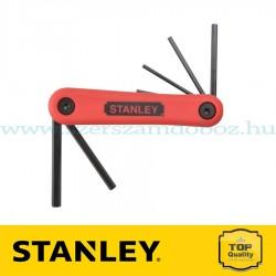 Stanley 7 részes összecsukható imbuszkulcs készlet