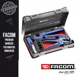 FACOM Villanyszerelő készlet (krimpelő fogó + csupaszító fogó)
