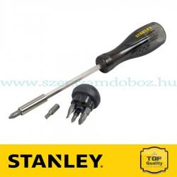 Stanley Multibit csavarhúzó 6 db behajtóheggyel