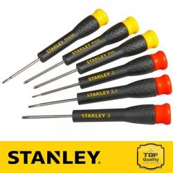 Stanley Precíziós csavarhúzó készlet 6 db