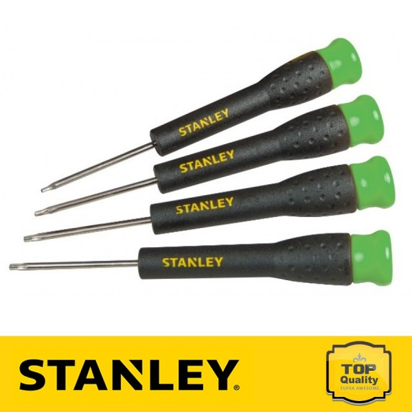 Stanley Precíziós csavarhúzó készlet 4 db