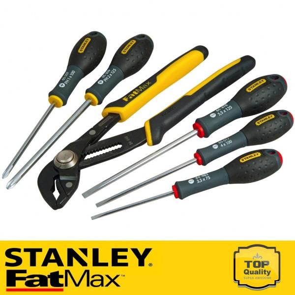 Stanley FatMax 5 részes csavarhúzó készlet vízpumpafogóval