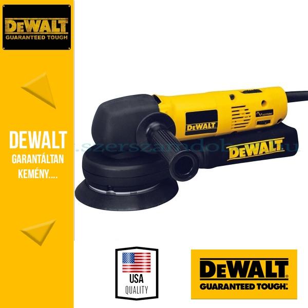 DeWalt DW443-QS Excentercsiszoló