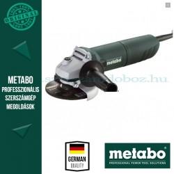 Metabo W 1080-125 Elektromos sarokcsiszoló