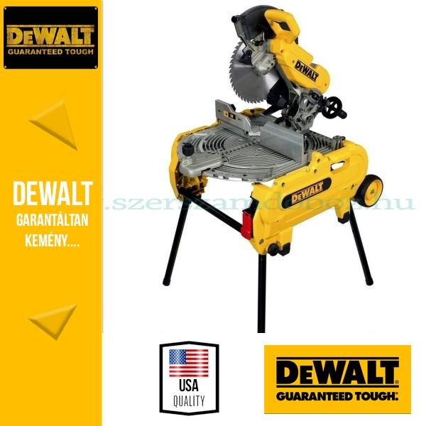 DeWalt D27107-QS Átfordítható asztalos kombináltfűrész