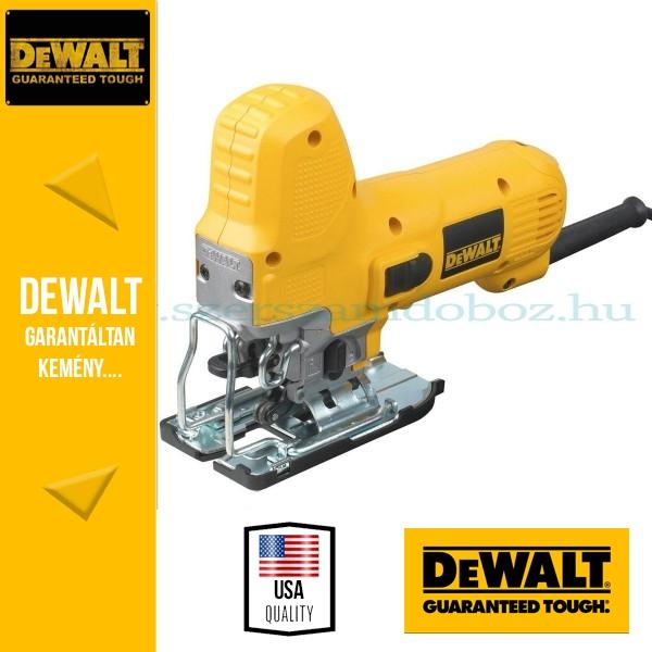 DeWalt DW343K-QS Gépfogantyús dekopírfűrész