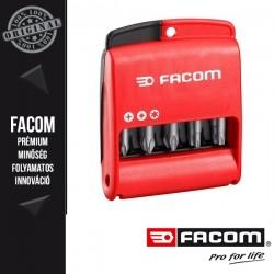 """FACOM Hatlapú/PH/PZ Bitkészlet, 1/4""""-os, 50 mm, 10 db-os"""