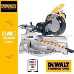 DeWalt DW712-QS Kihúzható vágófejes gérfűrész
