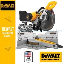 DeWalt DW717XPS-QS Dönthető, kihúzható vágófejes gérfűrész