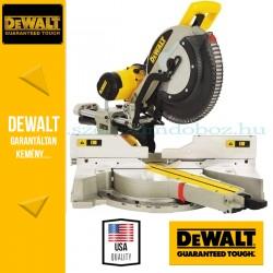 DeWalt DWS780-QS Két oldalra dönthető, kihúzható vágófejes gérfűrész