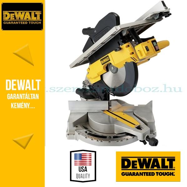 DeWalt D27111-QS Kihúzható vágófejes kombináltfűrész