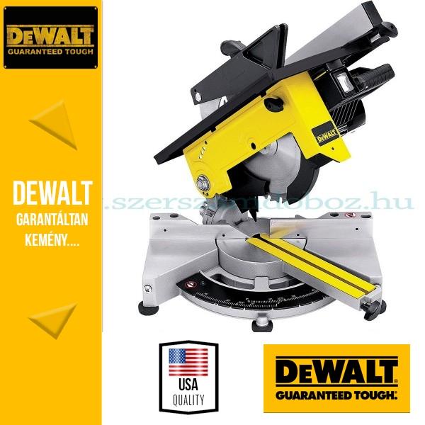 DeWalt DW711-QS Felsőasztalos kombináltfűrész