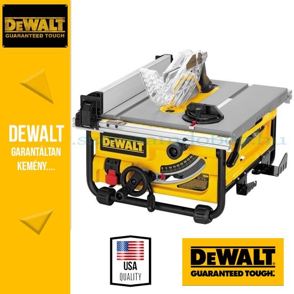 DeWalt DW745-QS Könnyű asztalifűrész