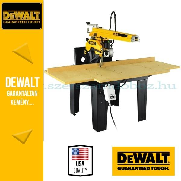 DeWalt DW728KN-QS Radiálkörfűrész