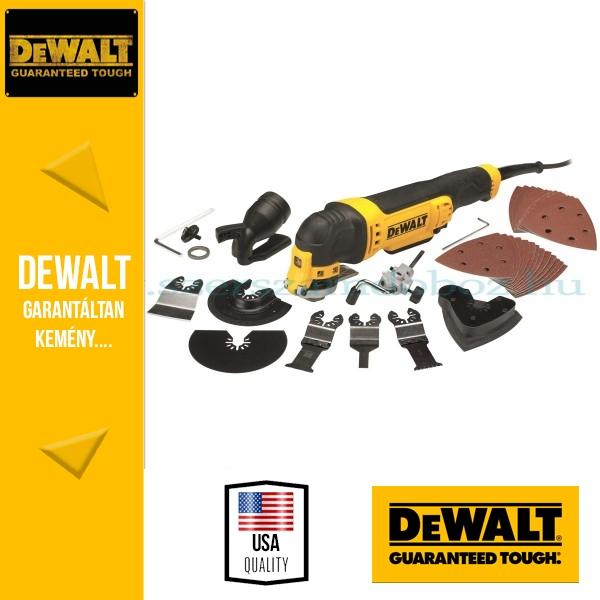 DeWalt DWE315KT-QS Multifunkciósgép + készlet