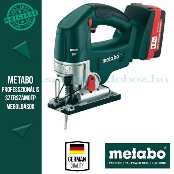 Metabo STA 18 LTX Akkus szúrófűrész