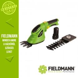 Fieldmann FZN 4101-A Kézi akkumulátoros fű és bokornyíró (1x 3,6 V / 1,3 Ah akkuval és töltővel)