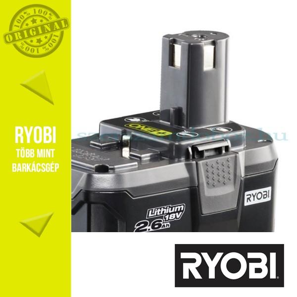 Ryobi RB18L26 ONE+ Lithium-ion akkumulátor 18V/2,6Ah
