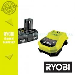 Ryobi RBC18L13 ONE+ Lithium-ion akkumulátor 18V/1,3Ah + töltő csomag