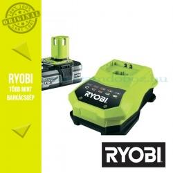 Ryobi RBC18L15 ONE+ Lithium-ion akkumulátor 18V/1,5Ah + töltő csomag