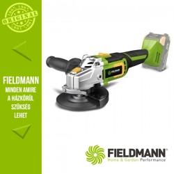 Fieldmann FDUB 70605-0 Akkumlátoros Sarokcsiszoló, 20V (akku és töltő nélkül)