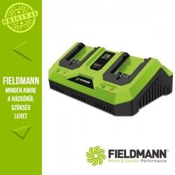 Fieldmann FDUZ 79110 Li-Ion Akkumulátor Dupla Gyorstöltő, 2 x 20 V