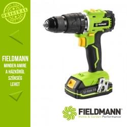 Fieldmann FDUV 50180-A Akkumulátoros fúró-csavarozó kofferben, 13 mm, 55 Nm (1x 18-20 V / 2000 mAh Li-Ion akkuval és töltővel)