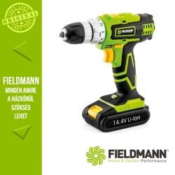 Fieldmann FDV 10301-A Akkumulátoros fúrógép, 10 mm, 30 Nm (1x 14,4 V / 1500 mAh akkuval és töltővel)