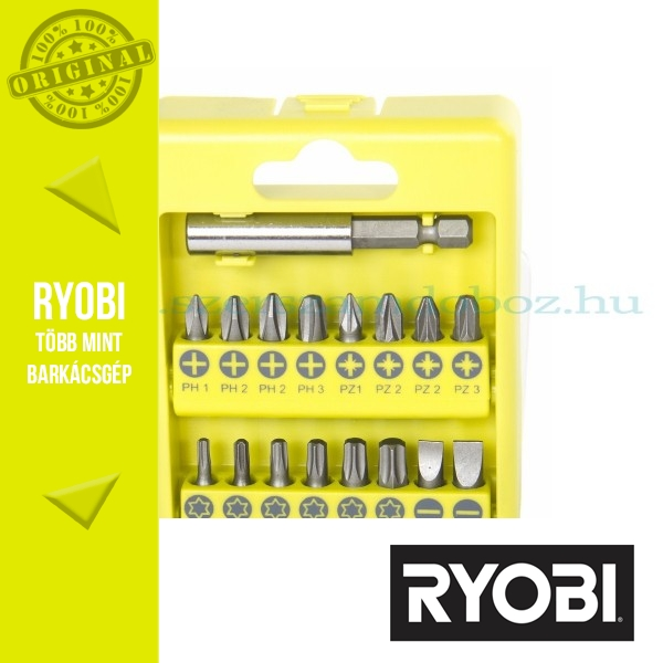 Ryobi RAK17SD 17 db-os csavarozó bit készlet