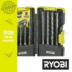 Ryobi RAK08SDS 8 db-os SDS-plus falazat fúró bit készlet