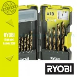 Ryobi RAK19HSS 19 db-os HSS fúró készlet