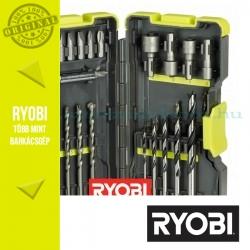 Ryobi RAK30MIX 30 db-os fúrószár + bit készlet