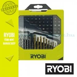 Ryobi RAK69MIX 69 db-os fúrószár + bit készlet