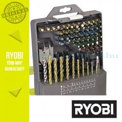 Ryobi RAK86MIX 86 db-os fúrószár + bit készlet