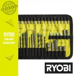 Ryobi RAK40RM 40 db-os fúró - csavarozó készlet