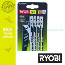 Ryobi RAK05JSBFC 5 részes szúrófűrészlap készlet