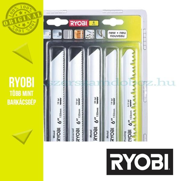 Ryobi RAK06RB 6 db-os orrfűrészlap készlet