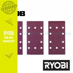 Ryobi TSA10 10 db-os csiszolópapír készlet