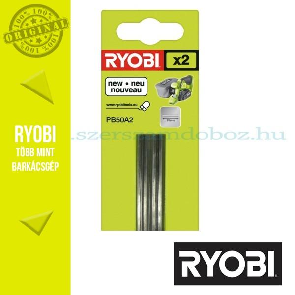 Ryobi PB50A2 2 db-os gyalukés készlet 50 mm
