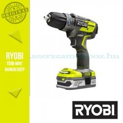 Ryobi R18PDBL-LL25S Akkus szénkefe nélküli ütvefúró-csavarbehajtó (ONE+)
