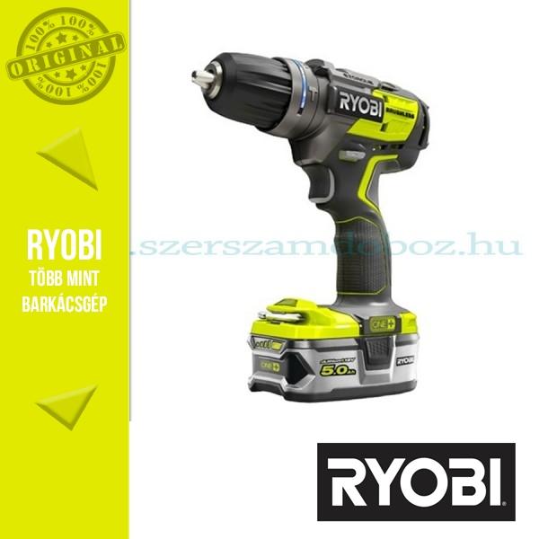 Ryobi R18PDBL-LL99S Akkus szénkefe nélküli ütvefúró-csavarbehajtó (ONE+)
