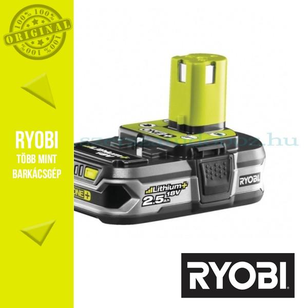 Ryobi RB18L25 (ONE+) Lithium-ion akkumulátor 18V/2,5Ah
