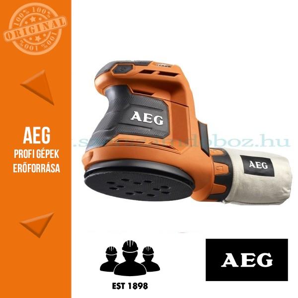 AEG BEX 18-125-402C Akkus excentercsiszoló