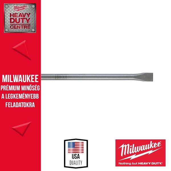 Milwaukee SDS-Max lapos véső 25 x 280 mm